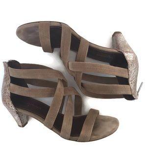 Donald J Pliner 10M Vida Open Toe Strappy Sandals